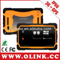 Olink Rugged IP66 Android 4.2 Mobile Data Terminal with 3G, WCDMA, GPS, Capacity Multi-touch, IPS Panel