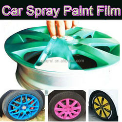 Peelable Waterproof Car Wheel Rim Rubber Spray Coating ,Rubber Plasti Spray Paint,Acrylic Liquid Pigment 400ml/1L/4L