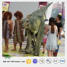 Customized Robotic Simulation Dinosaur Costume