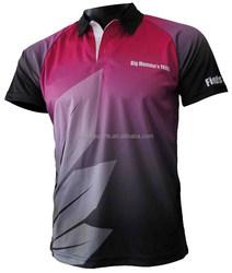 Custom Design Polyester Polo Uniform Sports T-shirt