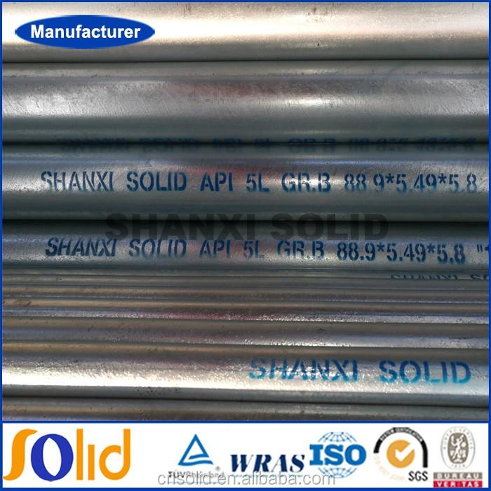 Welded schedule 80 pre galvanized steel pipe manufacturer (4).jpg