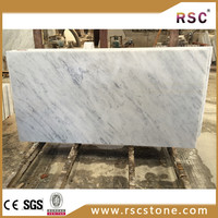 white carrara polished marble flooring colors