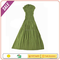 Low MOQ wholesale price fashion korean style handmade embroidery prom dress women