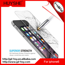 HUYSHE mobile phone for iphone6 plus tempered glass screen protector