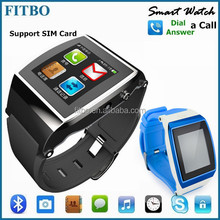 FITBO Sleep monitor SIM unlocked smart watch mobile phone for VIVO X5 Pro