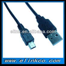 Mini USB Cable for smartphones, PDAs and video game consoles