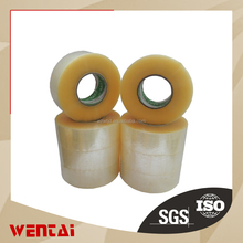 Chinese mainalnd factory 100 General Purpose Grade Hot Melt Bopp Film Packaging Tape, 100m Length x 48mm Width, Clear