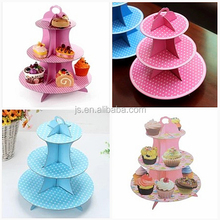 Paper simplicity cupcake stand house cupcake candy cardboard