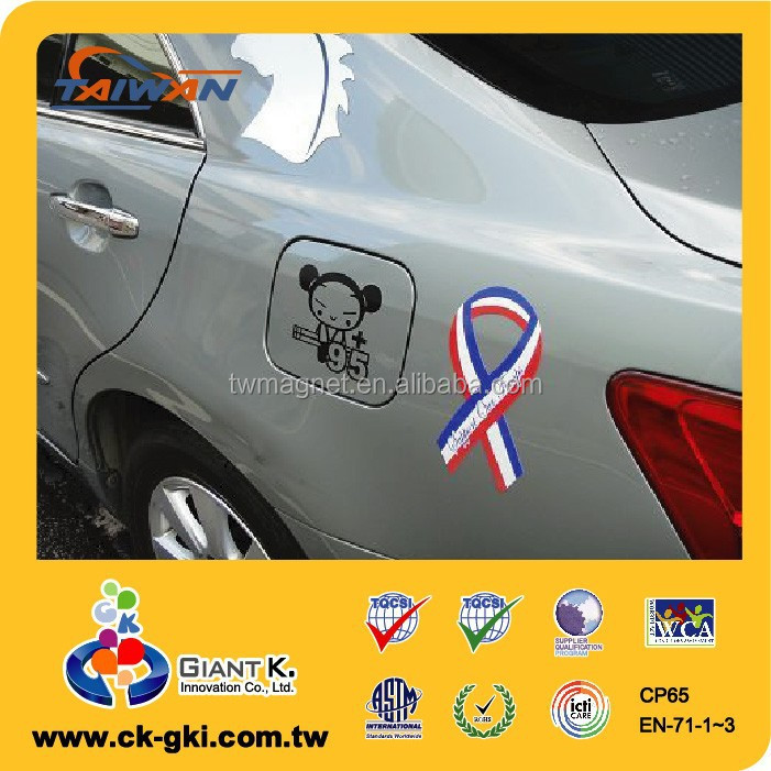 Customized Car Body Waterproof Decorative Magnetic Car Decals ...