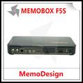caliente de venta original memobox f5s hd pvr 1080p full hd dvb fuerte s2 mpeg4 receptor de satélite
