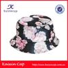 wholesale high quality oem designed floral printed bucket hat