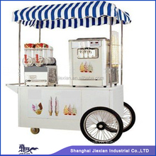 JX-IC160 good looking Cool Summer Outdoor mobile popsicle ice cream cart