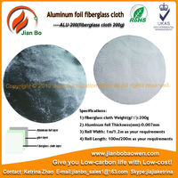 energy saving aluminum foil heat insulation sheet fiberglass cloth coated alu