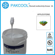 5.0W/m.K thermally conducitity Anti-flame grease paste for solar inverter