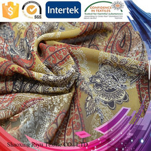 China direct factory 75D polyester wholesale chiffon fabric printing for dress