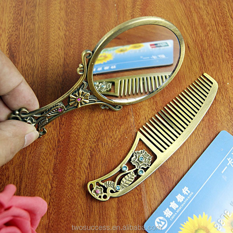 Bronze handle Comb Mirror Set.jpg