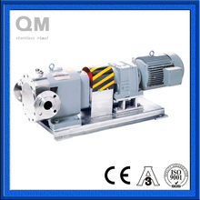 Sanitary AISI 304 Gear Constant Speed Ratio Rotor Pump For Food Industry