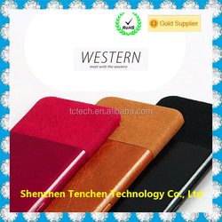 Tenchen genuine leather phone case for iphone 6 case leather
