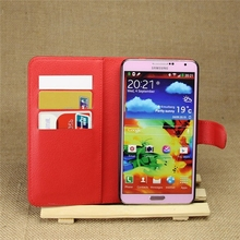 Hot selling leather case for Samsung galaxy Note 3 Leather Mobile phone flip cover case for Samsung galaxy Note 3