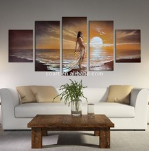 Hot Sale Group Nude Oil Painting