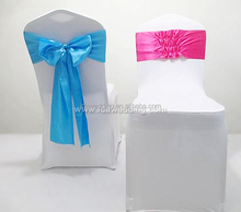 chair sashes satin black/fashionable satin sash/navy table cloth satin cheap price