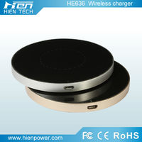 best qi charging pad Micro usb port 5V 1A wireless charger case with CE,FCC