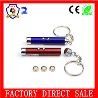 hotest mini led flashlight keychain and creative wedding gift keychain and lovers Keychain(HH-key chain-1528)