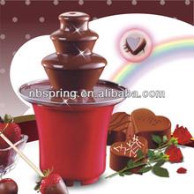 Chocolate fountain with CE/GS/SAA/ETL/RoHS/LFGB/REACH
