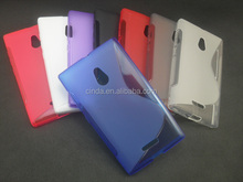 New S-Line TPU Silicone Gel case for NOKIA XL