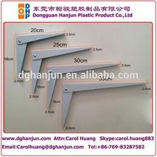 pintura de muebles de metal plataforma coner soporte de soporte del estante de la pared soporte