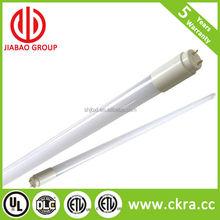 DLC and UL listed frosted 150lm/w 5000k 9w 12w 15w 18w 22w 4ft 2ft 8ft T8 led tube lighting light easy retrofit