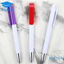 custom promotional items color cup plastic pen