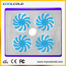 Fashion and unique design 17 notebook cooling pad, extreme cooler for laptop
