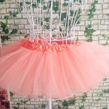 peach tutu skirts 5layers tutu skirts girls tutu skirts ballet tutu skirts