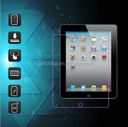 High quality tempered glass screen protector shield guard for Apple iPad 2