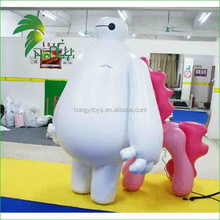 Top Quality Customized Design Favorable Price Inflatable Lovely Cartoon Big Hero for Advertising