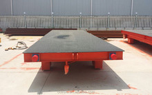 Factory Directly Supply Electric Flat Car For Mining Transportation