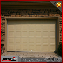 5 panel insulation steel garage door low headroom spring and track system