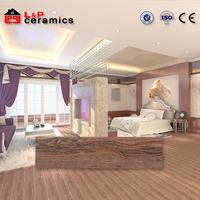 30% discount grade AAA 150X800 rustic wood plank look ceramic tile