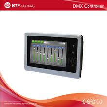 DMX Touch screen master controller 36channels DMX500 controller DC5V for strip light