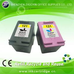 everlasting ink cartridge for hp 121BK XL/121C XL