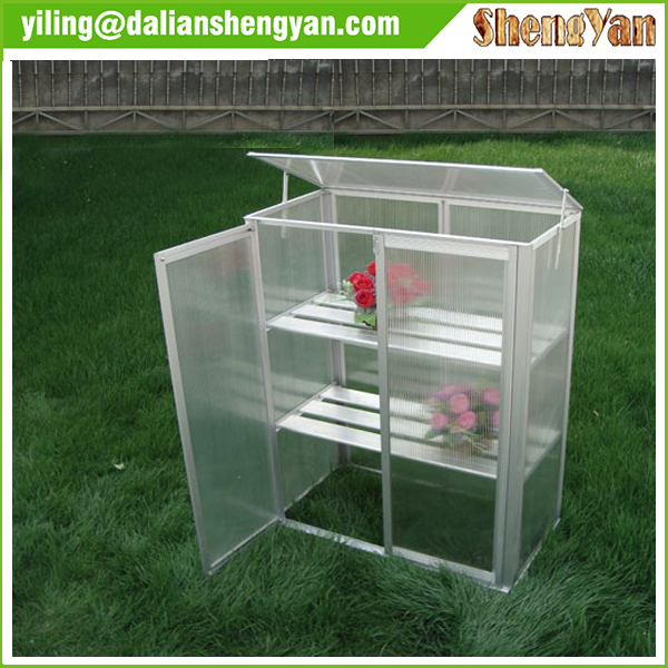 Polycarbonate greenhouse with aluminum frame buy polycarbonate greenhouse g - Serre aluminium polycarbonate ...