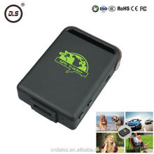 New real time software web track gps tracking tk102 gps tracker for pets/dog/car/kid