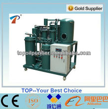 Used gear oil separation machine through the dehydrator,degasification,filtration processes,fully automatical