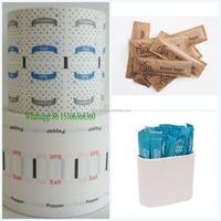 Single PE Laminated Paper Roll for Sugar &Salt&Pepper Sachets 45g