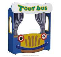 wooden puppet theatre toy for children educational toys