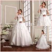 Maid of honor wedding dresses for a princess clothing line New York Fashion Week 2016