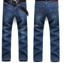 Factory Wholesale Men's Casual Black Blue White Washed Jeans