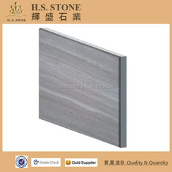 white wood grain marble composite stone compound panel laminated marble
