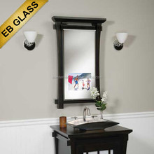 Smart advertising mirror with internet connection,eb glass